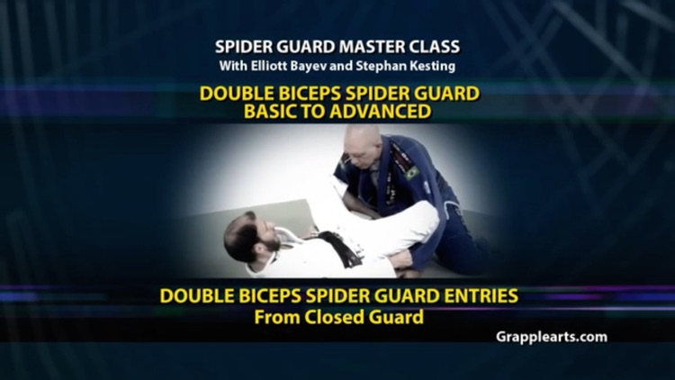 BJJ Spider Guard Volume 2, Double Biceps Spider Guard - Basic to Advanced screenshot-0