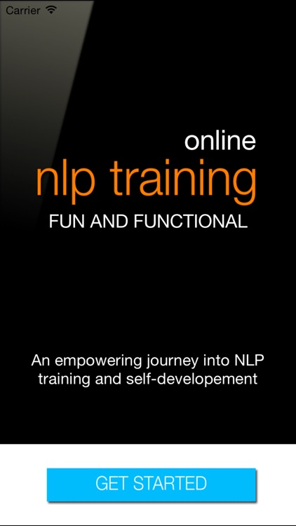 NLP Online Training Series with Live Client Sessions