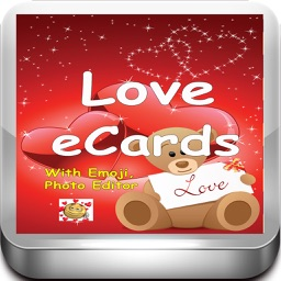 Love e-Cards and Wallpapers Maker.Customising and sending romantic love and valentine cards