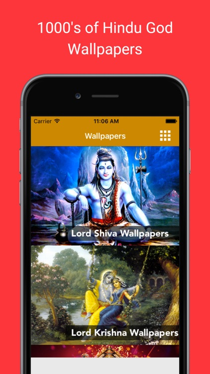 Hindu God & Goddess Wallpapers : Images and photos of Lord Shiva Vishnu, Ganesh and Hanuman as home & lock screen pictures