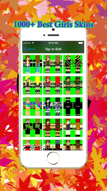 Cool Girl Skins for PE of Minecraft