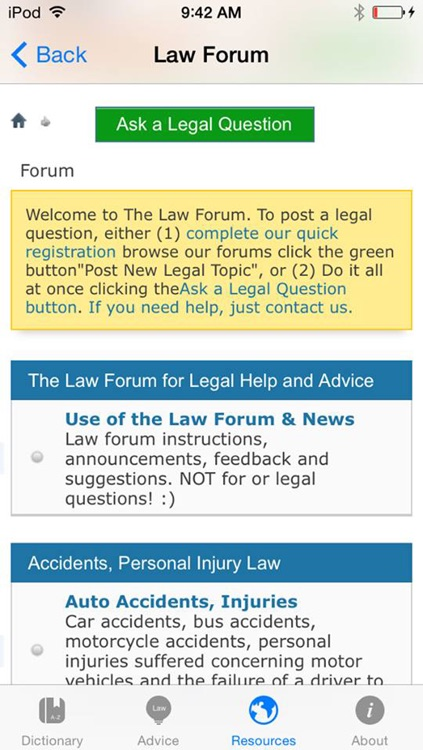Law Dictionary & Guide screenshot-3