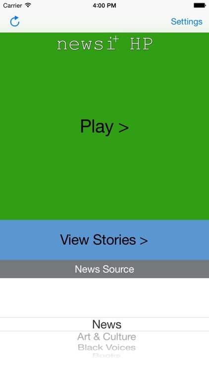 Newsi Plus HP: Featuring Huffington Post
