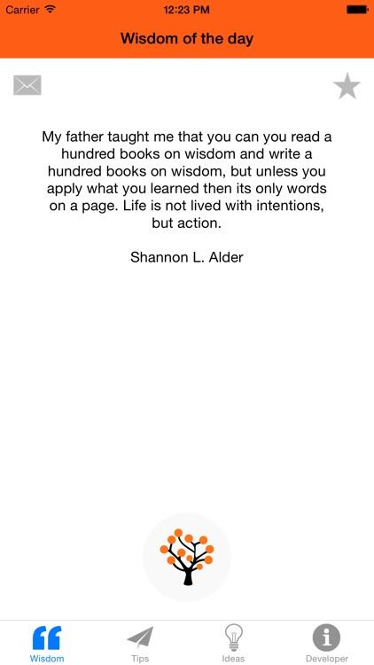 Wisdom of the day screenshot-3