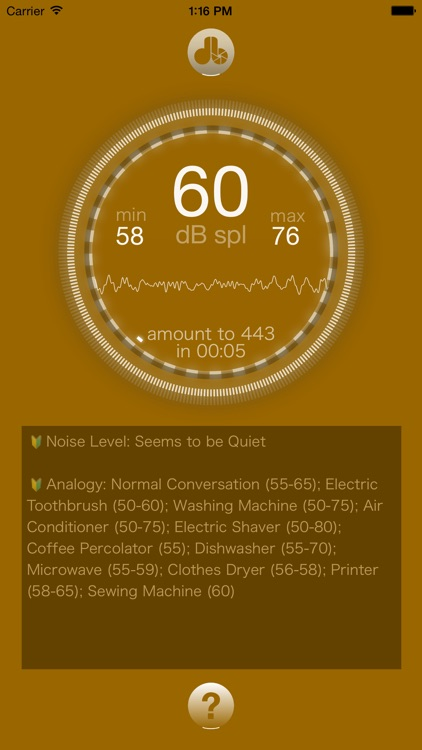 Noise-meter - dB-meter, Decibel Meter, Sound Level Meter, Measure the sound around you easily