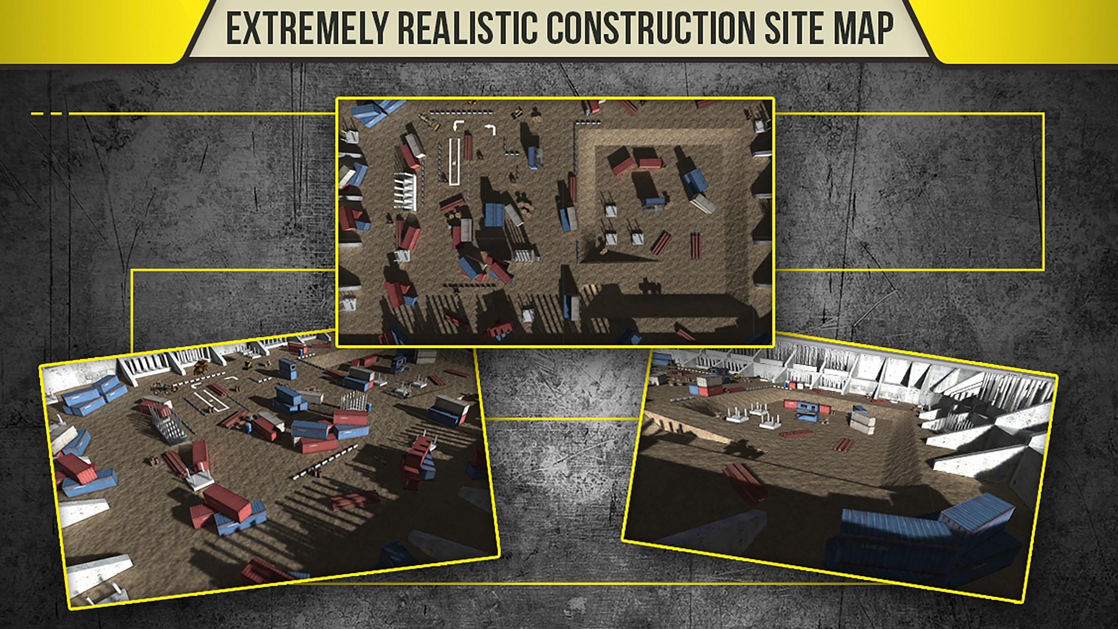 3D Construction Simulator - Extreme Trucks Driver Screenshot