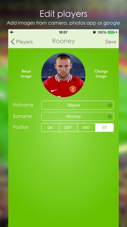 Lineup - Football Squad screenshot-3