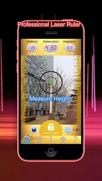 Laser Pointer & Measure - Distance, Height, Width Measurement