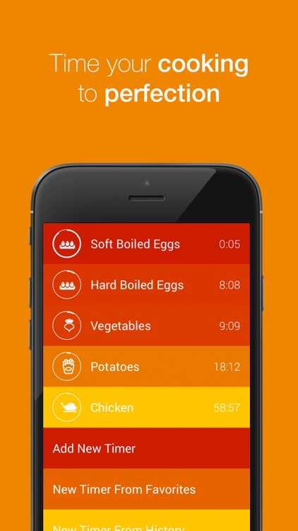 Kitchen Timer - Multiple Timers to Time Your Cooking to Perfection screenshot-1