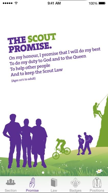 My Badges - The Scout Association (UK Programme)