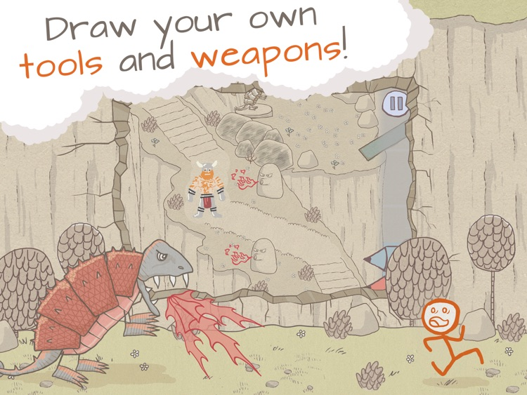 Draw a Stickman: EPIC HD Free screenshot-3