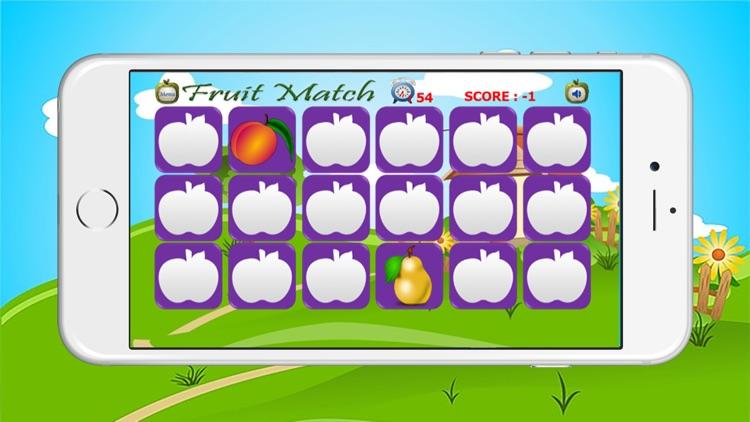 Fruit match land for kids game
