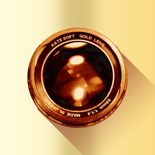Gold Lens icon