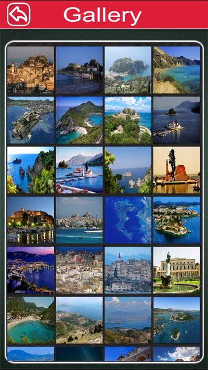 Corfu Island Offline Map Tourism Guide screenshot-3