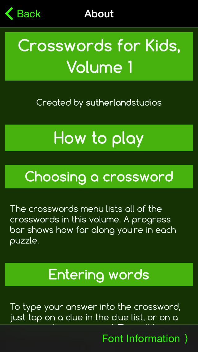 Crosswords for Kids 1のおすすめ画像5
