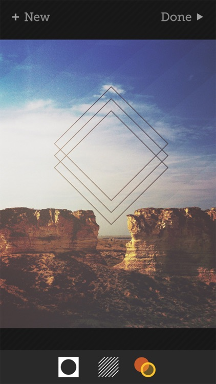 Tangent - Add Geometric Shape, Pattern, Texture, and Frame Overlays and Effects to Your Photos screenshot-3