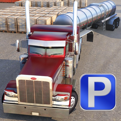 3D Semi Truck Parking PRO - Full Trucker Driving School Simulation Version