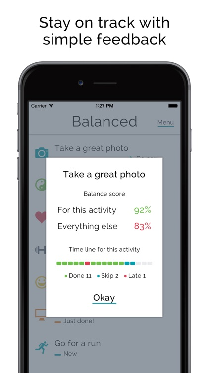 Balanced - Habits tracker & life goals motivation screenshot-3