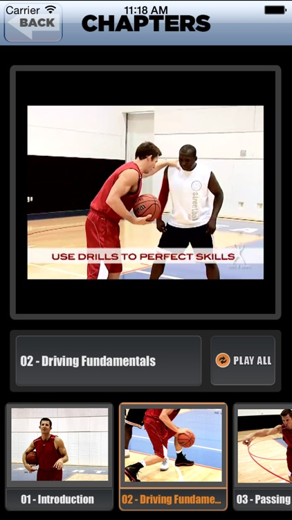 Dribble Triple Threat: Drive, Pass & Shoot - With Ganon Baker  - Full Court Basketball Training Instruction screenshot-3