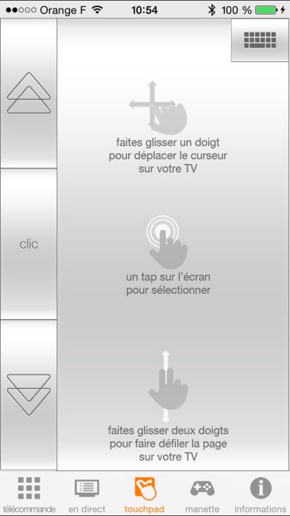 TVcommande d'Orange screenshot-4