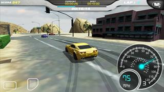 Burning Wheels Car Racer 3D screenshot two