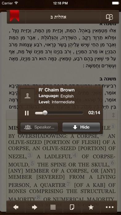 iMishna Screenshot 5