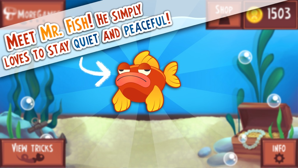 Don't Tap the Glass! Game of the Cranky and Moody Fish Cheat Codes