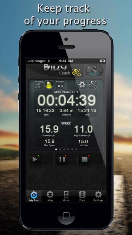 Biky Coach - Sport GPS Biking / Cycling / Bike / Racer - Free Edition