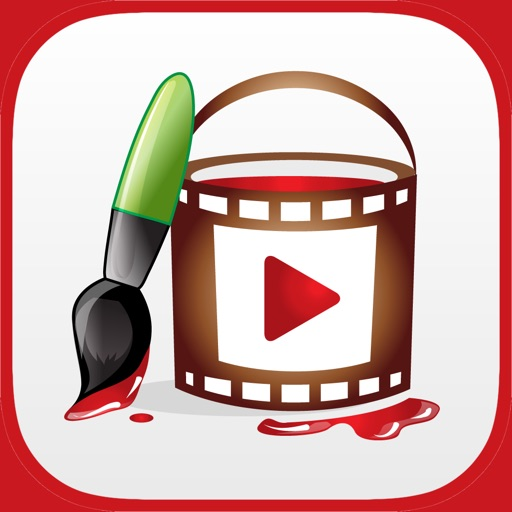 Video Brush Pro - Draw on Videos, Movies and Telestrator App