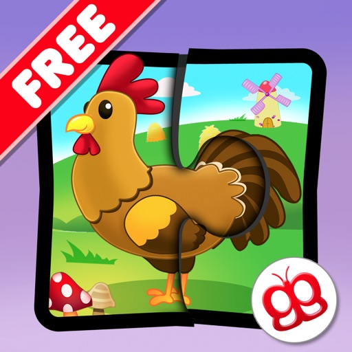 Farm Jigsaw Puzzles 123 Free for iPad - Fun Learning Puzzle Game for Kids