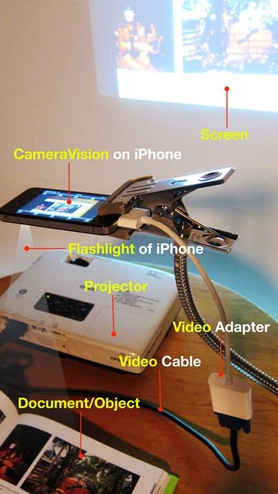 CameraVision - 書画カメラ screenshot1