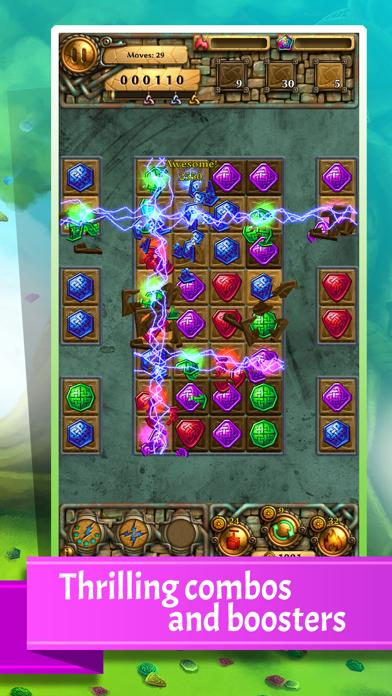 Jewel Tree: Match It puzzle (full)のおすすめ画像3