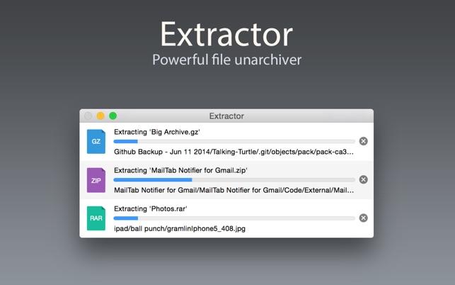 Extractor - Unarchive RAR, Zip, Tar, 7z & Bzip2 files 4+