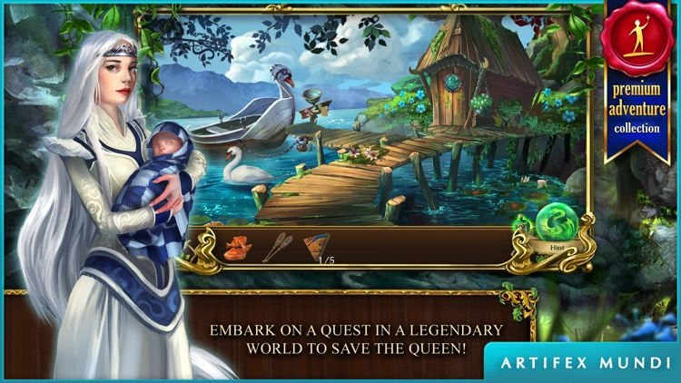 Grim Legends 2: Song of the Dark Swan screenshot-0