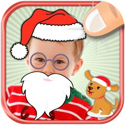 Christmas Photo Stickers and adhesive Labels for children