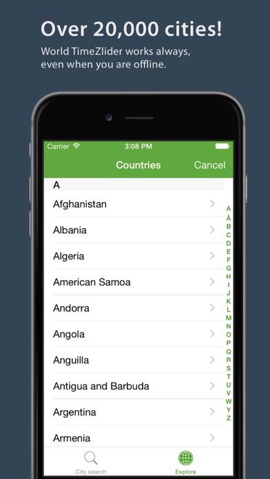 World TimeZlider - Convert time, schedule and shareScreenshot of 4