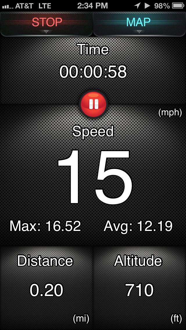 Renn-Tracker - GPS Fitness-Tracker für SpurterScreenshot von 1