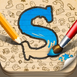 Sketch W Friends ~ Free Multiplayer Online Draw and Guess Friends & Family Word Game for iPad