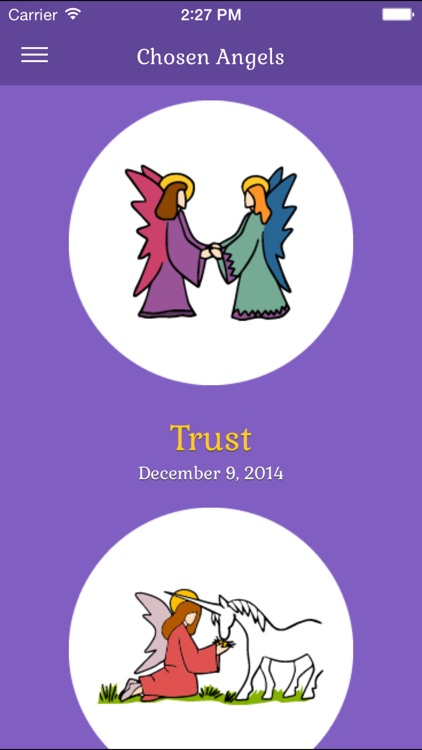 Original Angel® Cards App - Helps you to find focus each day screenshot-3