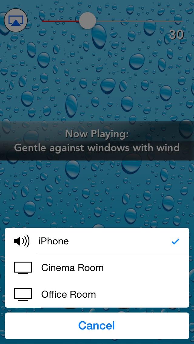 Screenshot for Sleepmaker Rain Pro in Denmark App Store