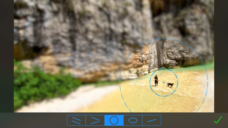 TiltShift Video - Miniature effect for movies and photos