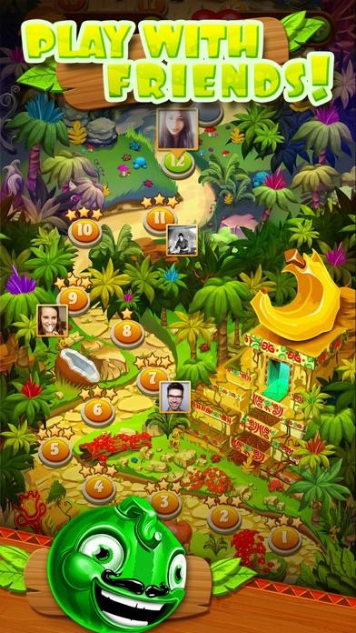 Jungle Jam - Juicy Fruit Match-3 Game screenshot four