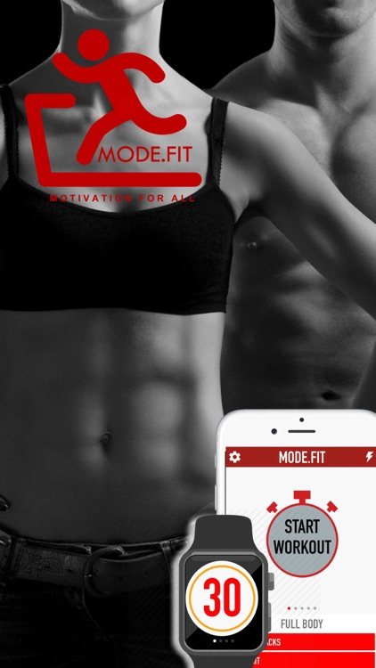 Mode.Fit - Daily Workout Challenge with fitness coach for Christmas
