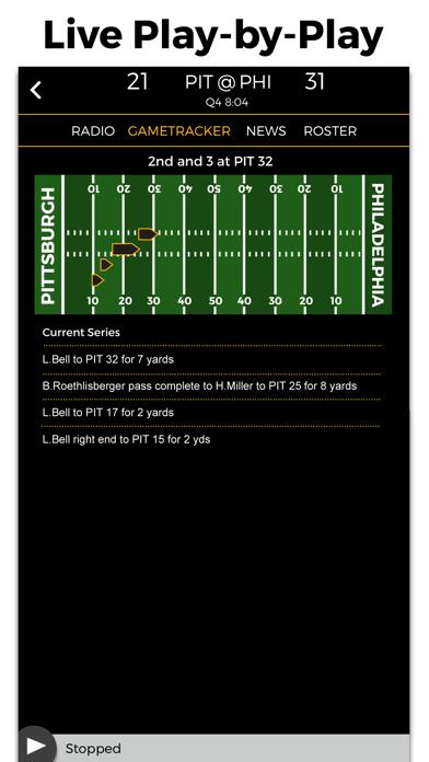 Pittsburgh Football Radio & Live Scores screenshot two