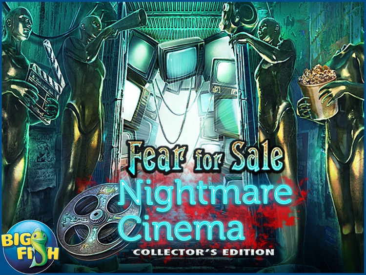 Fear For Sale: Nightmare Cinema HD - A Mystery Hidden Object Game screenshot-4