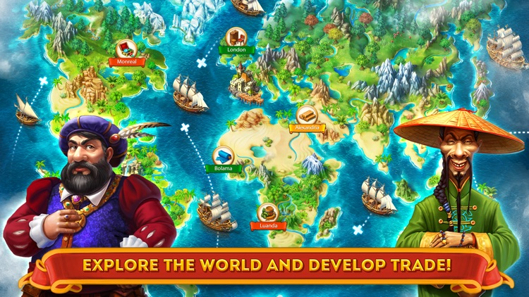 Maritime Kingdom - Trade goods, fight pirates, build an empire screenshot-2