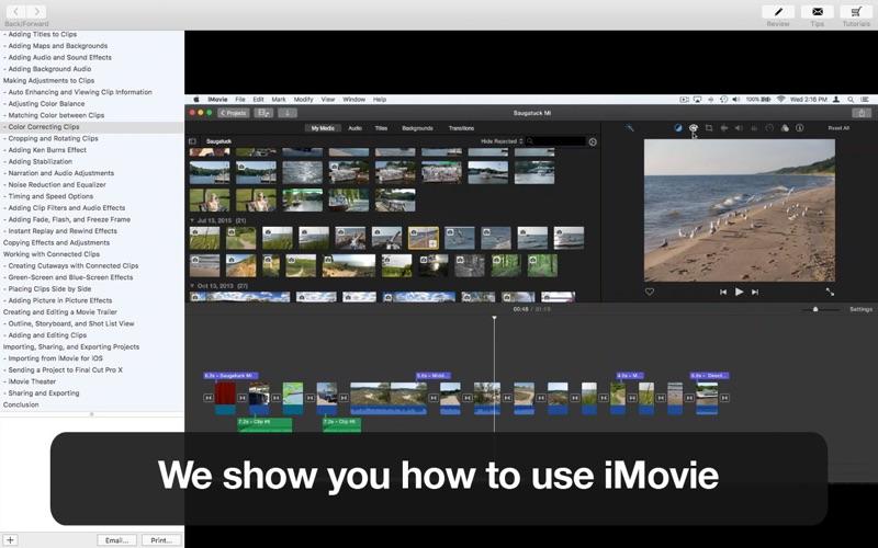 Tutor for iMovie | App Price Drops