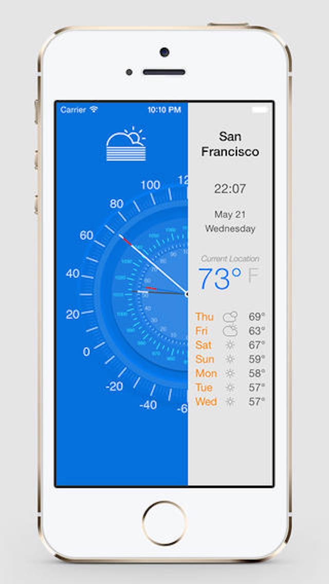 Weather Today - Local Forecast and Temperatureのおすすめ画像1