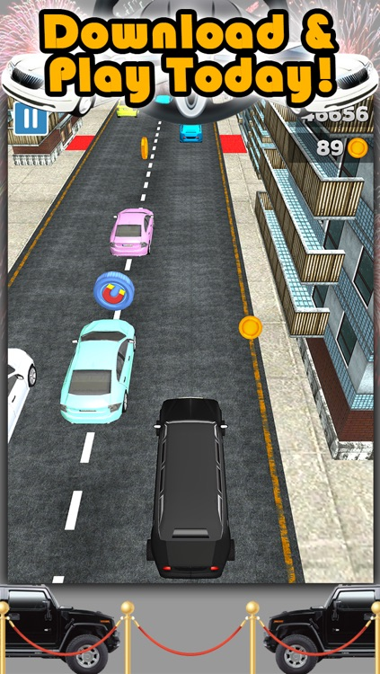3D City Limo Racing Game with Driving and Racing Simulator Fun for Cool Boys FREE screenshot-4