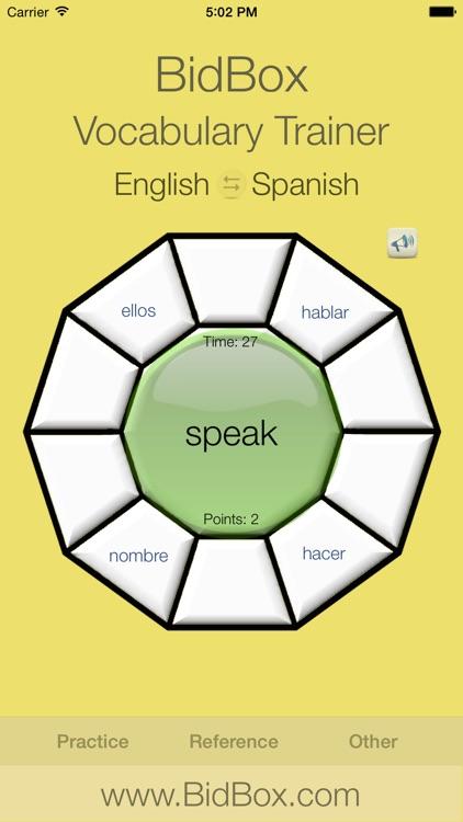Spanish Vocabulary Trainer